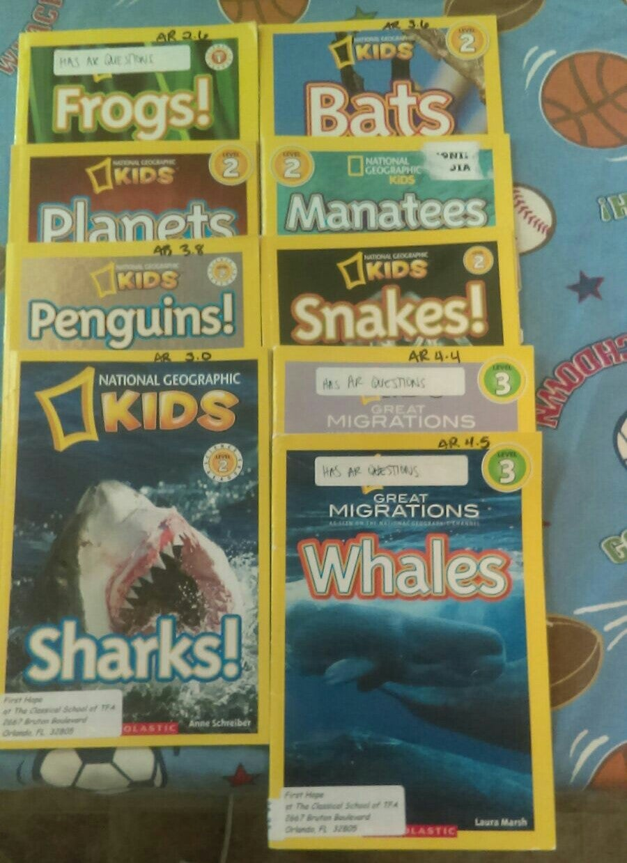 National Geographic Kids Level Books