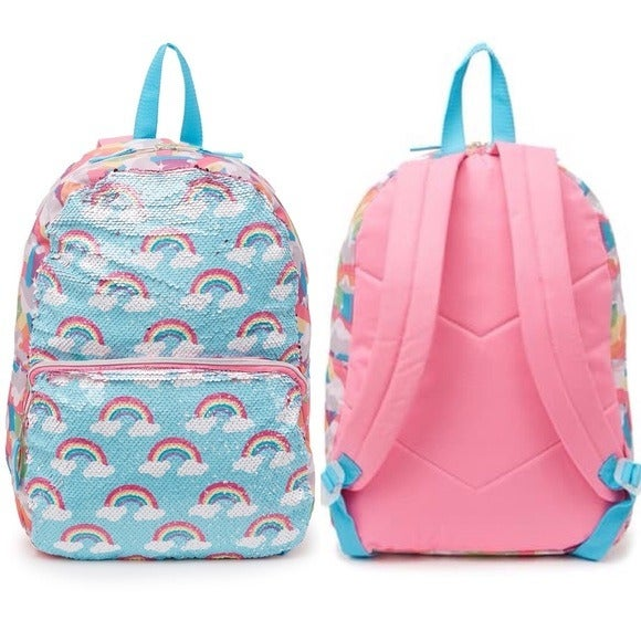 A D SUTTON SONS Sequin Rainbow Backpack