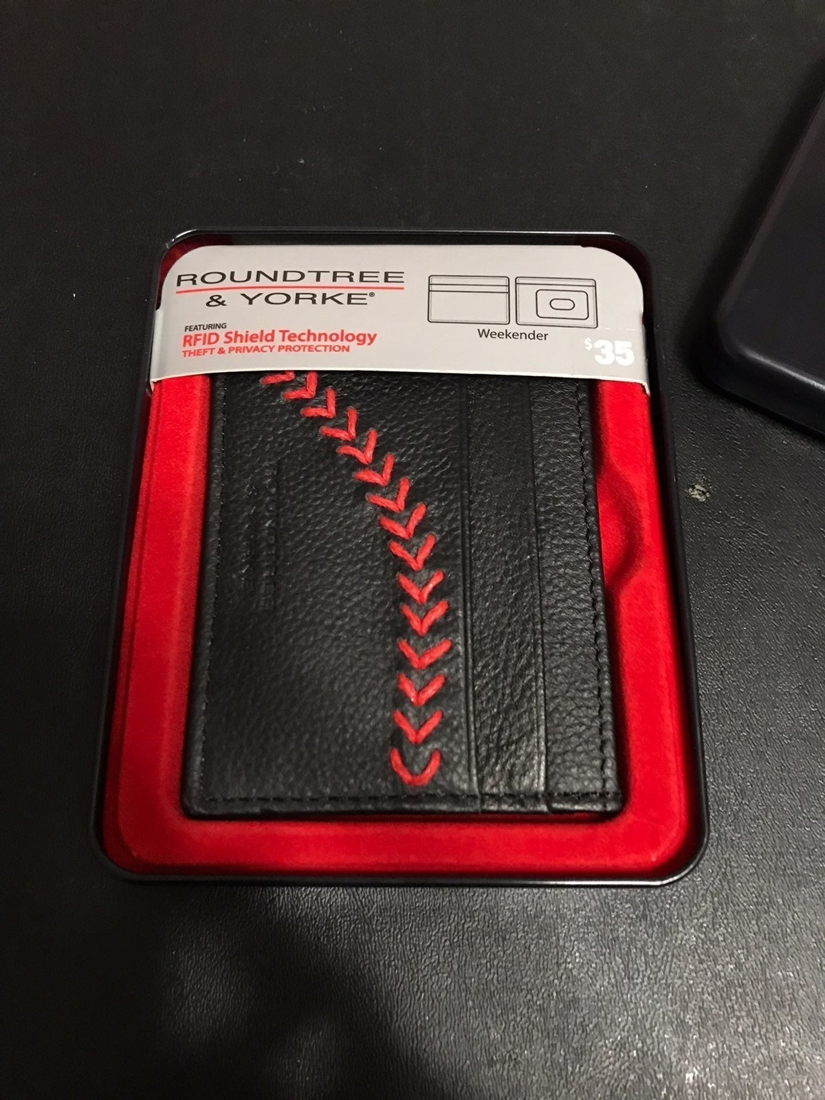 Men's Basbeball Stitch Wallet