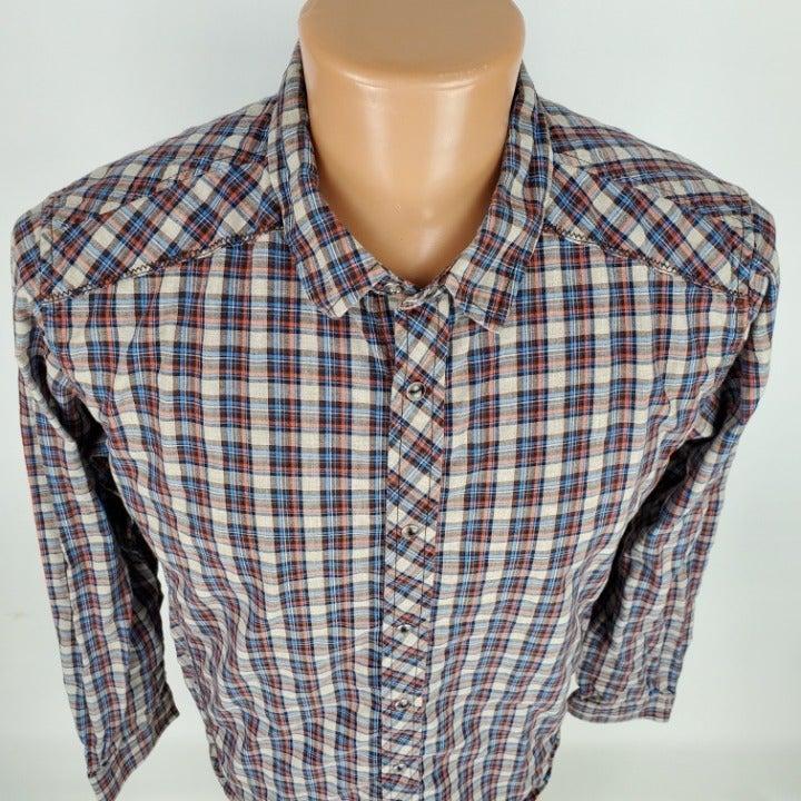 prAna Archer Western Pearl Snap Shirt