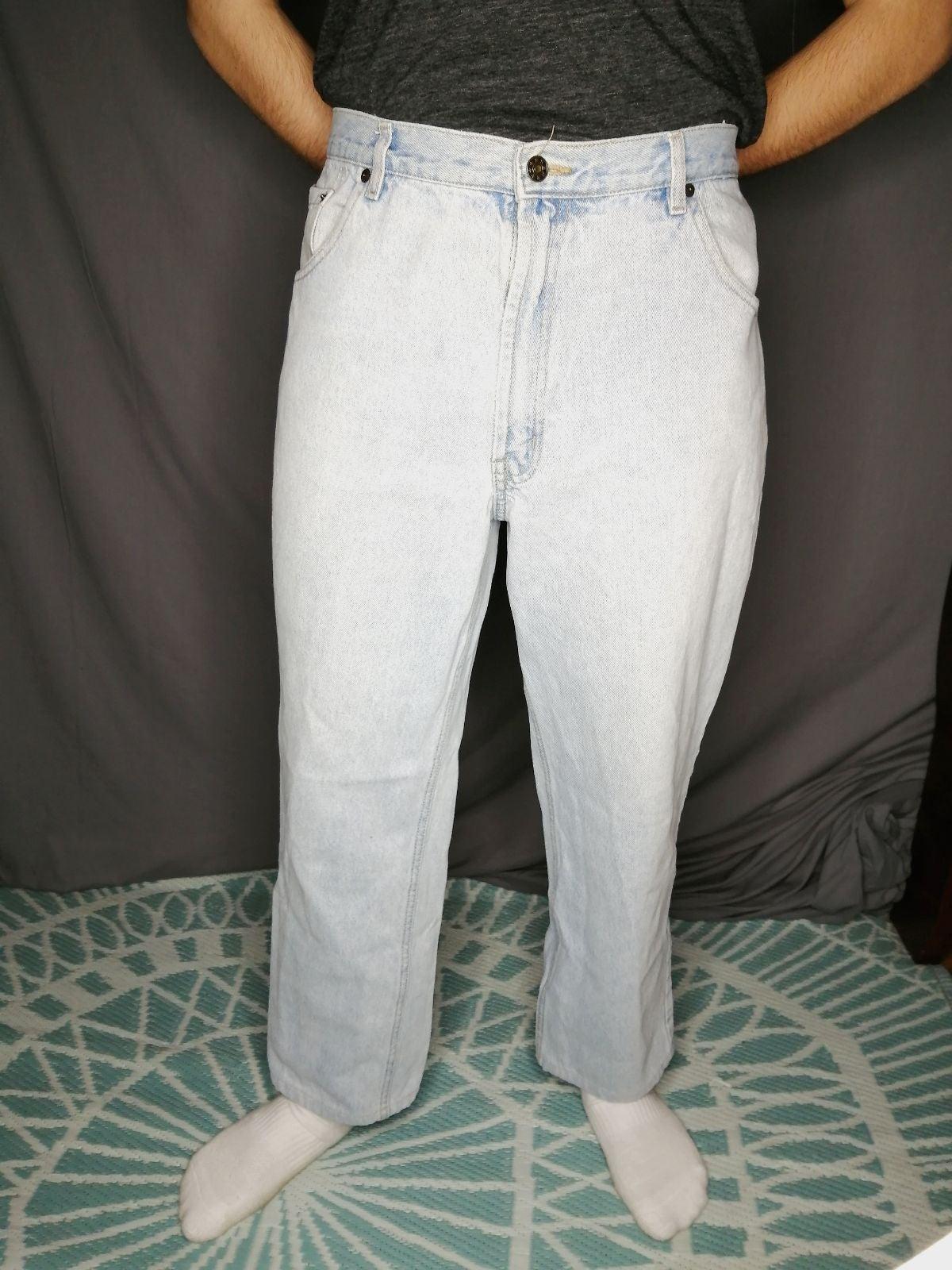 Vintage Bugle Boy light wash Jeans
