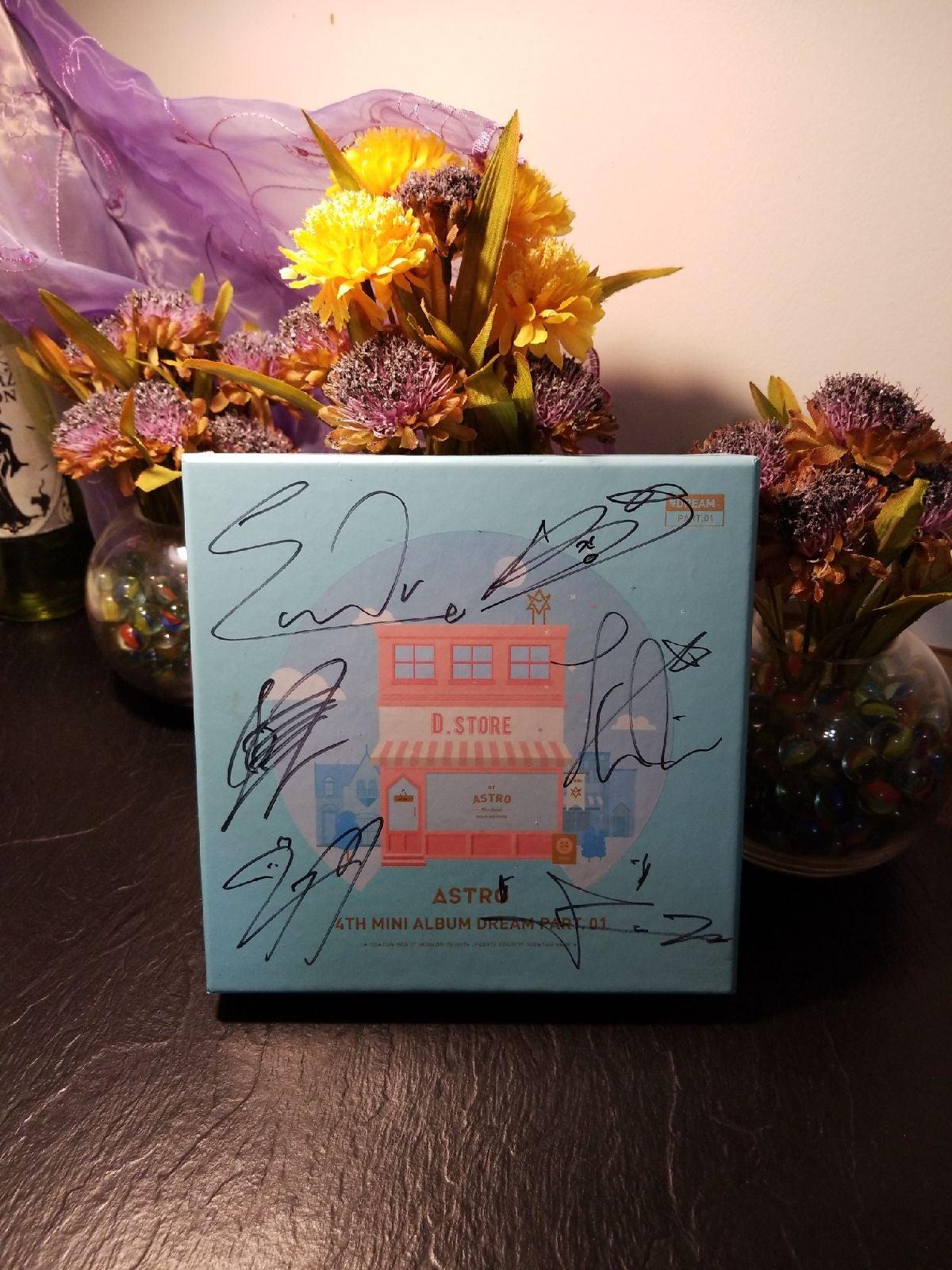 Signed Astro album