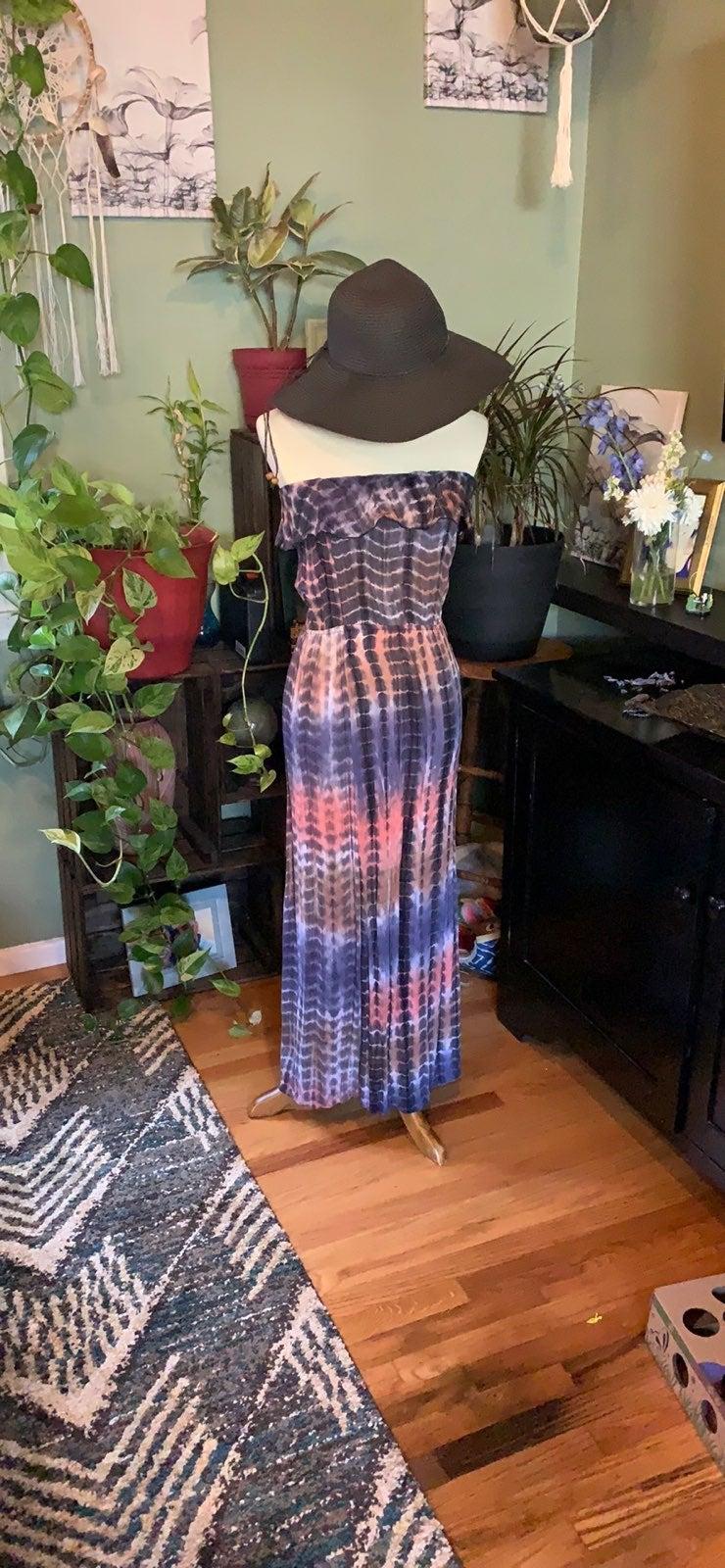 Like new tye die maxi dress