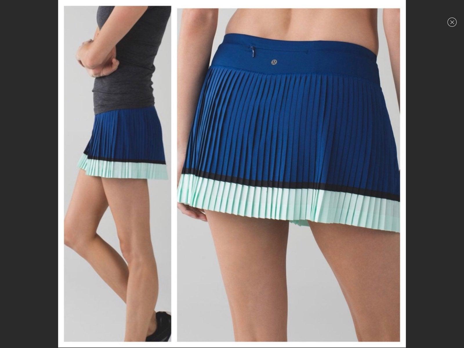 Lululemon Pleat to Street II Skirt 10