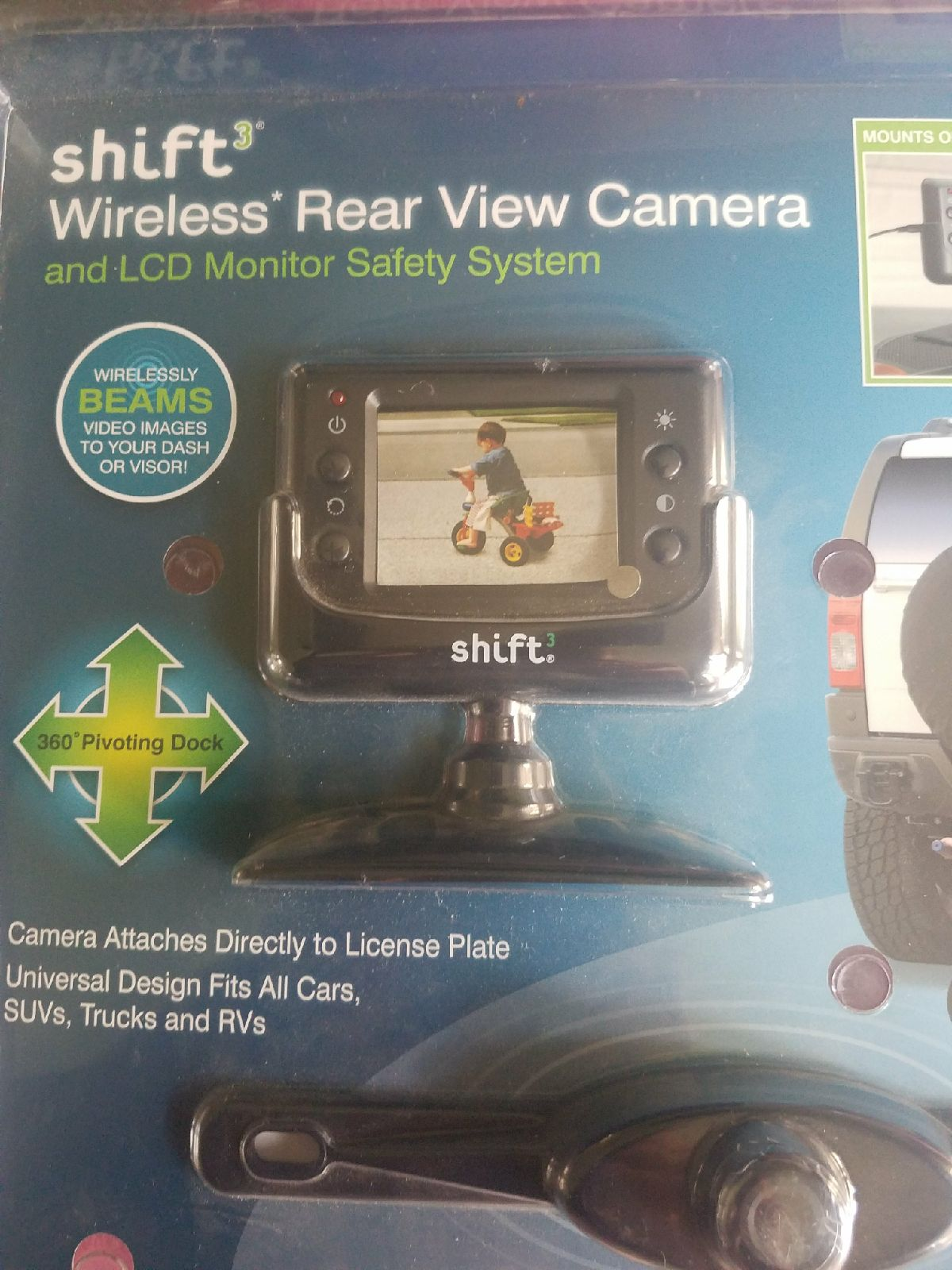 Shift3 Wireless Rear View Camera