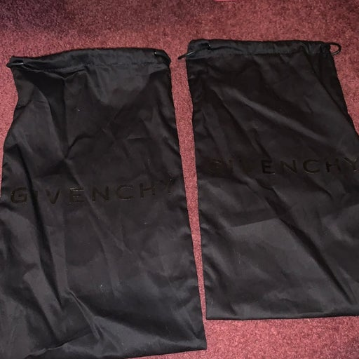 Two Givenchy dust bags