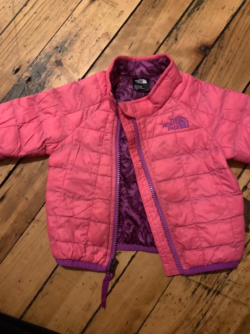 Baby girls North Face thermoball jacket