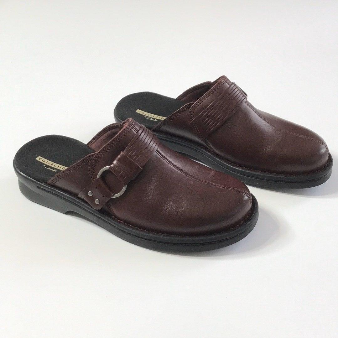 Clarks Patty Lorene  Leather Slip-On Clo