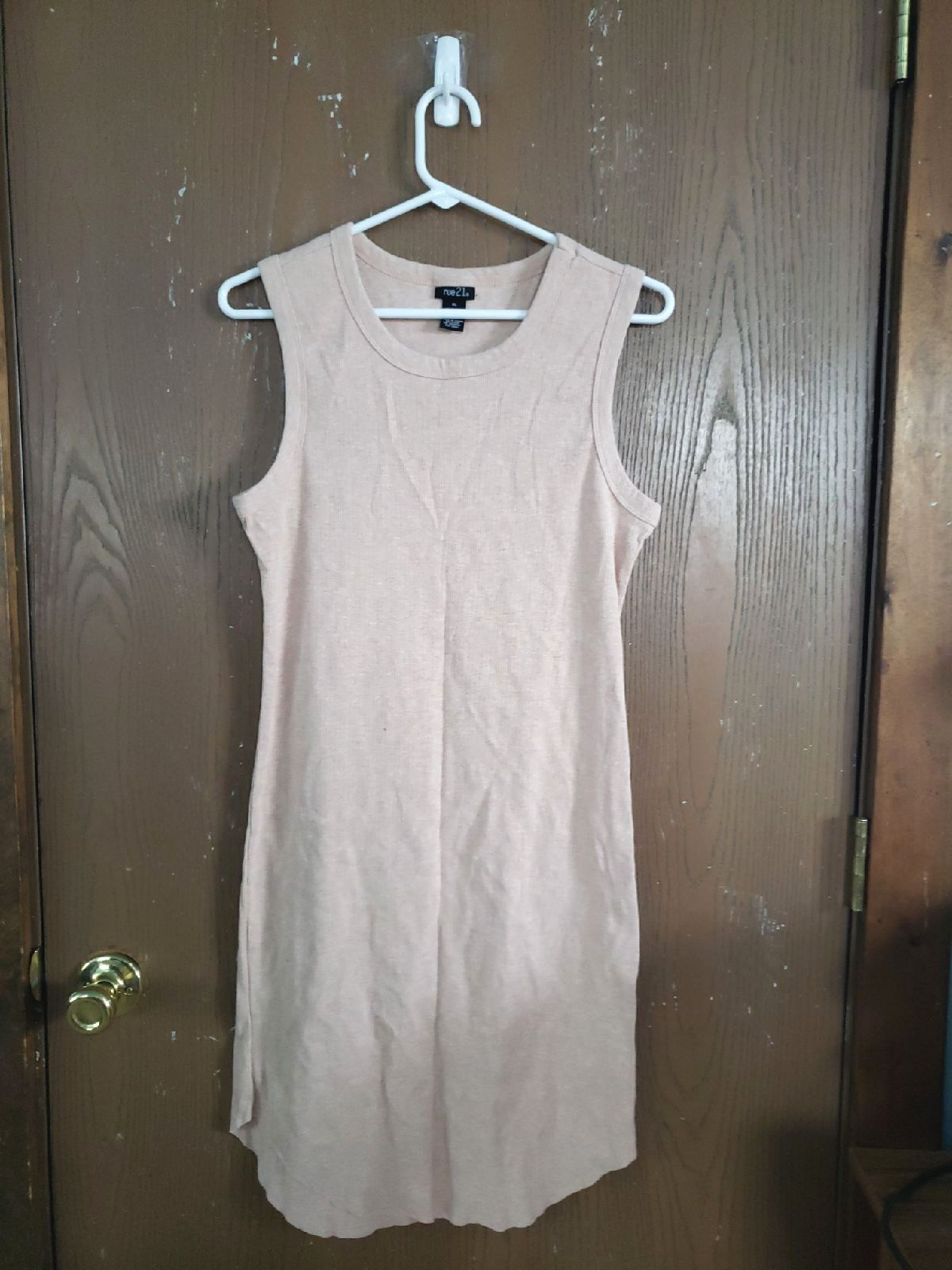 Tank dress pink size X L