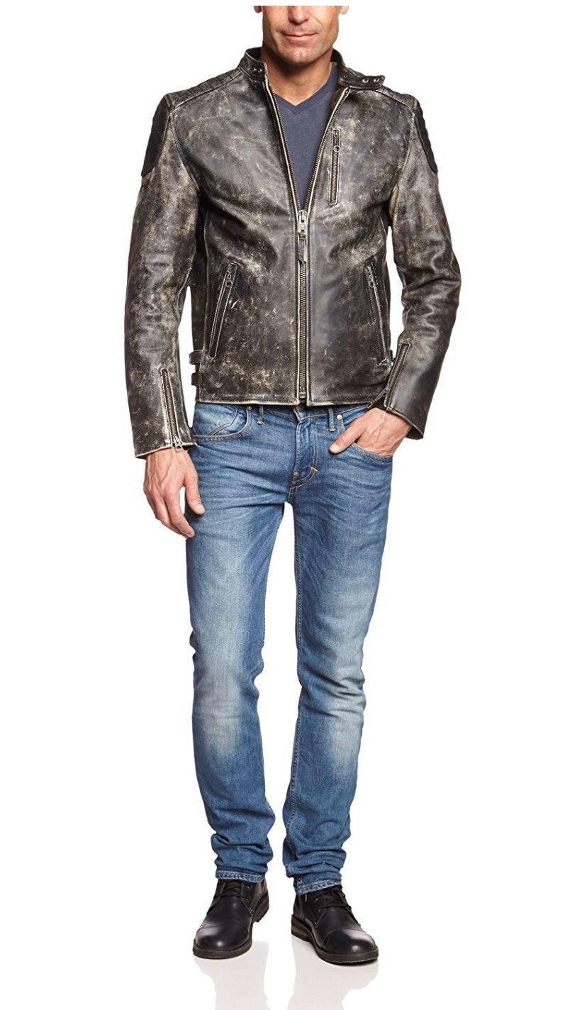 Vintage Mens L Acid WASH Jacket