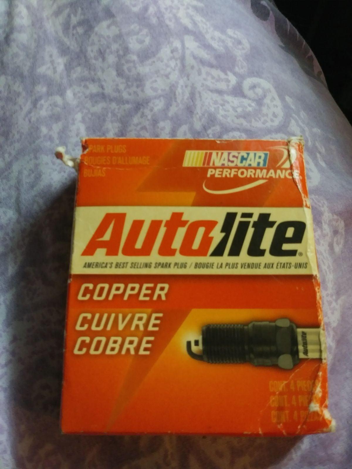 Autolite copper core spark plugs