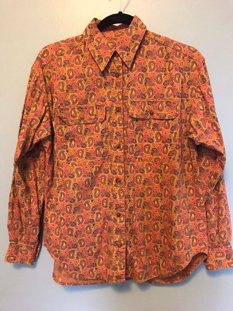 Vintage Liz Claiborne Button Up