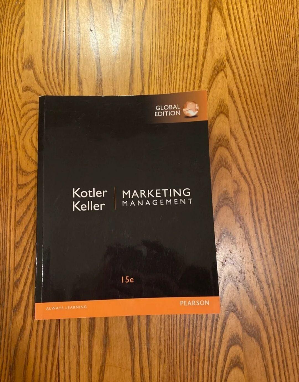 Marketing Management 15th edition