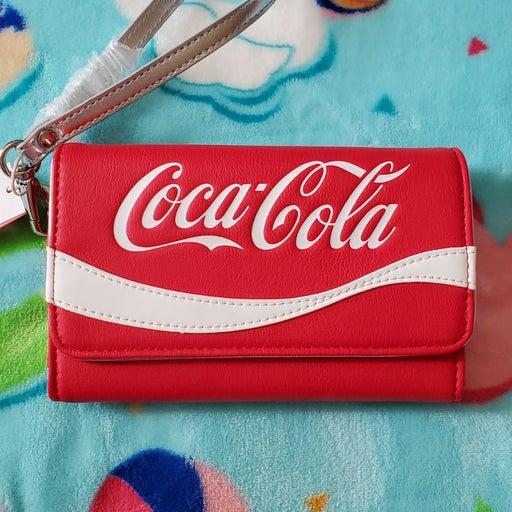 Coke Cola wristlet wallet