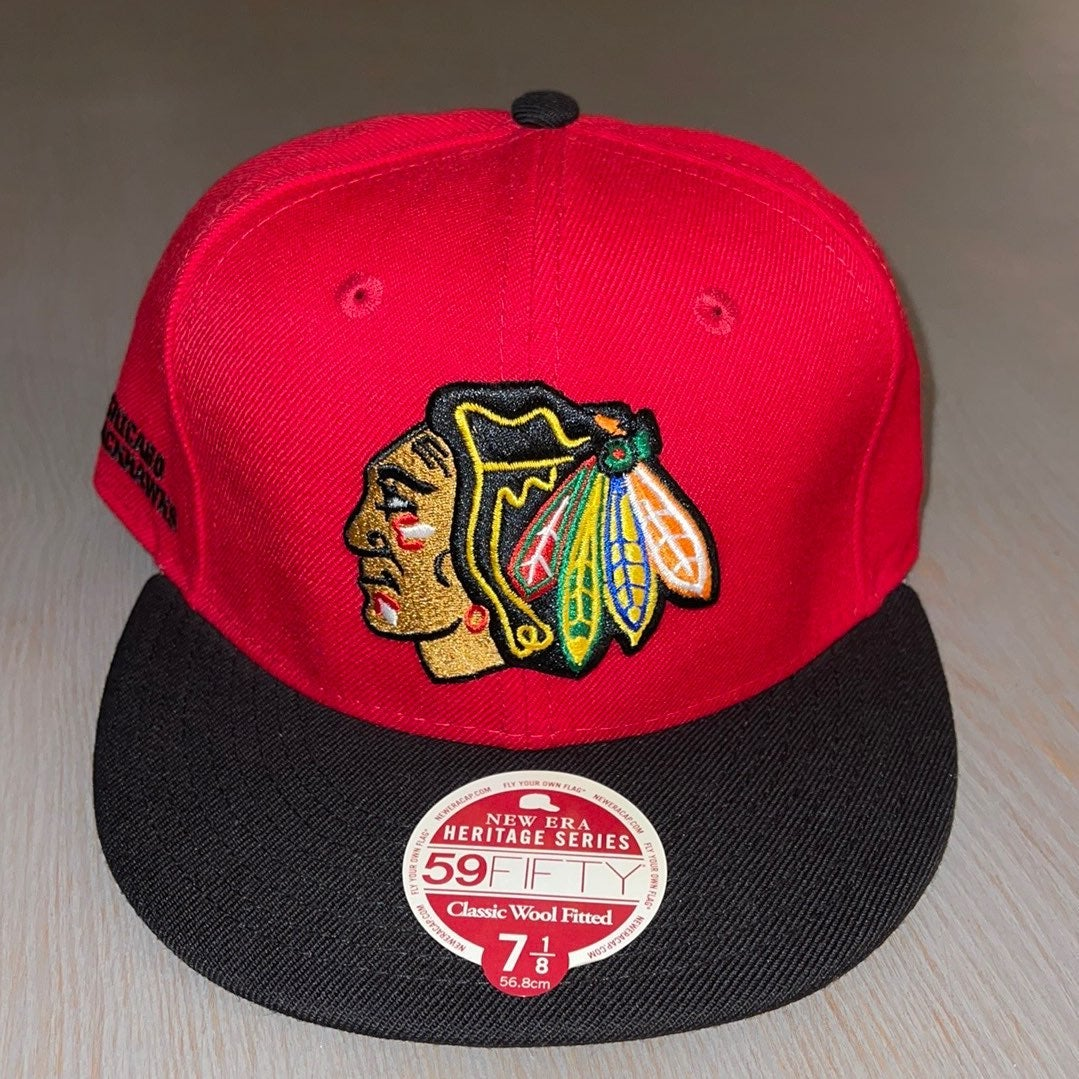 New Era Chicago Blackhawks Fitted Hat