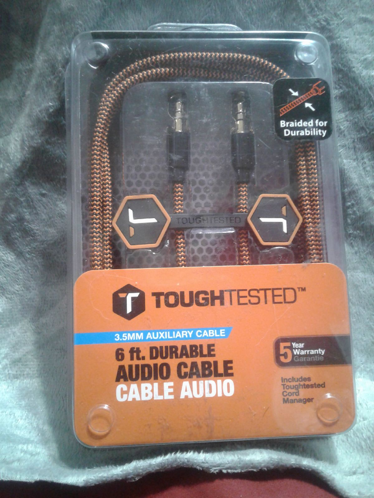 Toughtested 3 .5mm Aux Cable