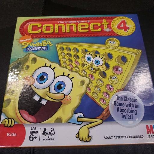 Connect 4 Four Spongebob Bob Squarepants