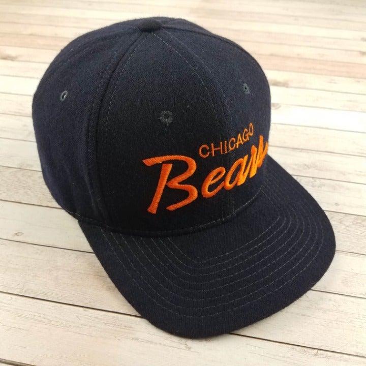 VTG 80s Griwsold Chicago Bear Script Hat