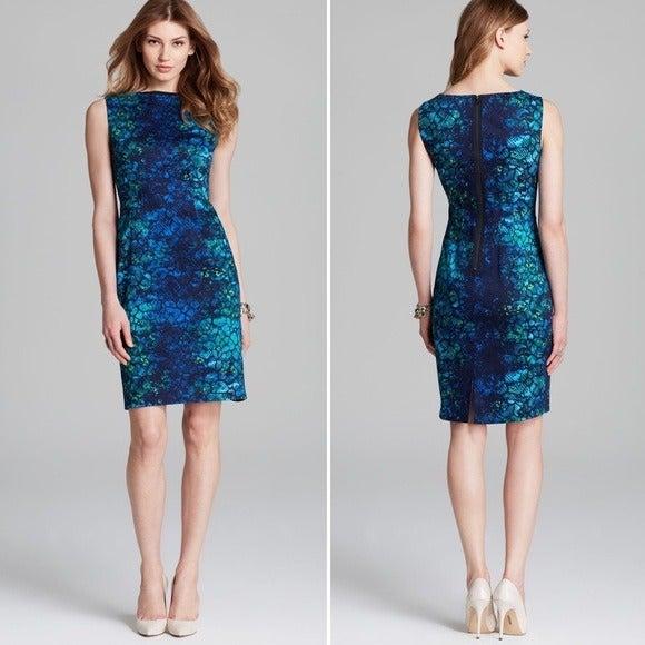 NWT Tahari Skylar Sahara Print Dress