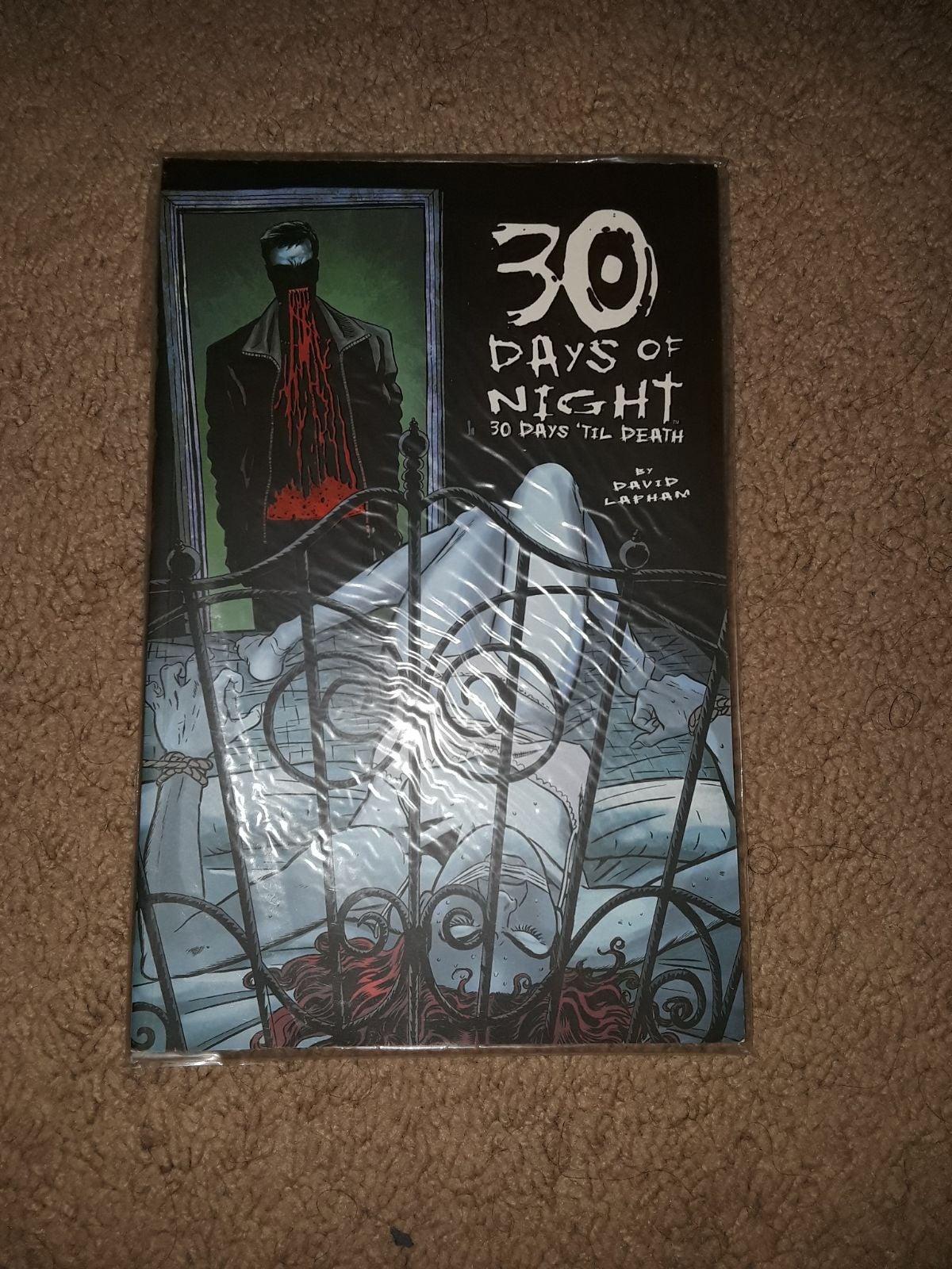 30 days of night 30 days of death