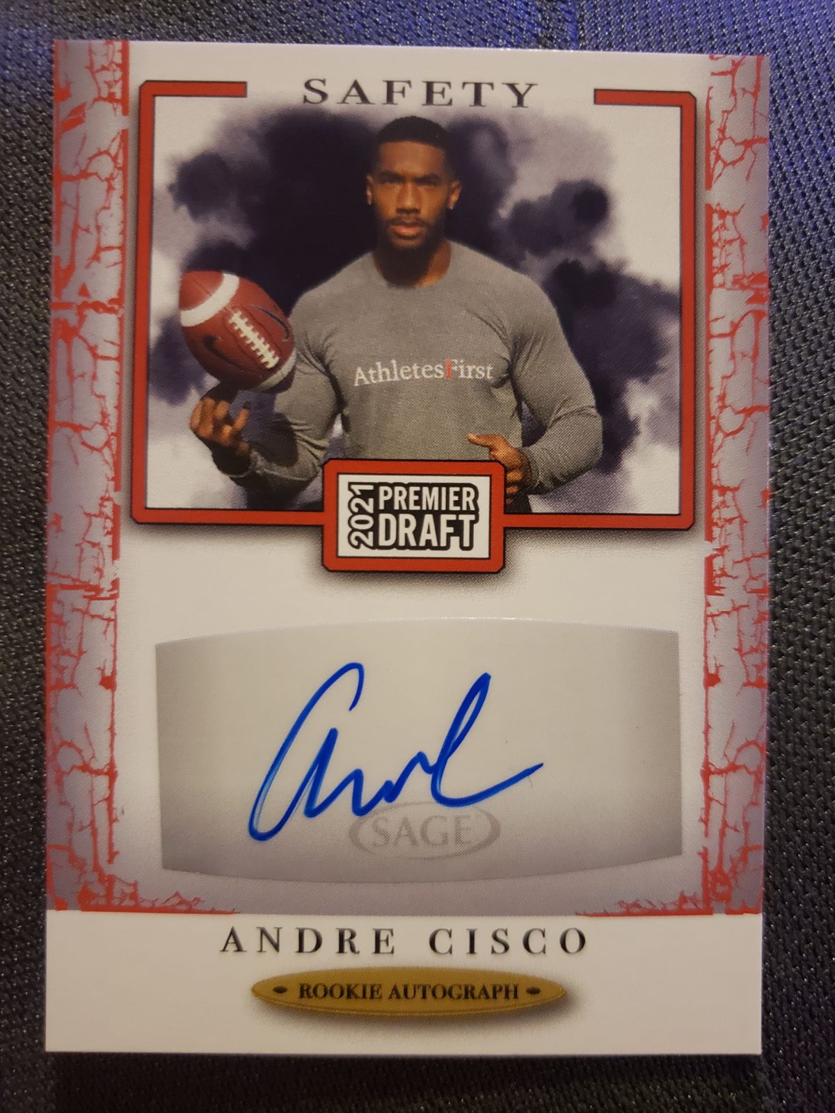 Andre Cisco signed card