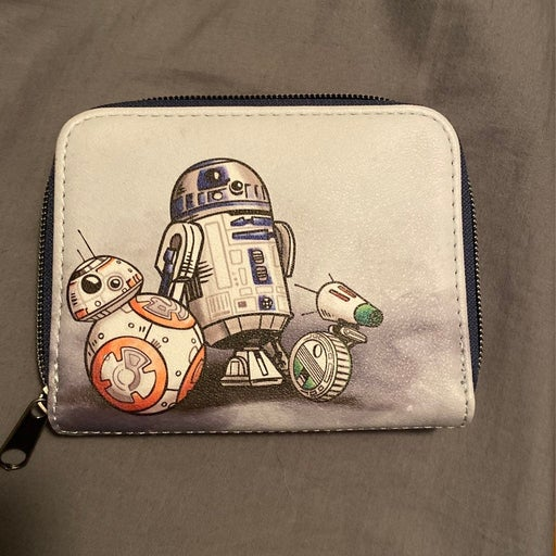 Star Wars Loungefly Droids Trio Wallet