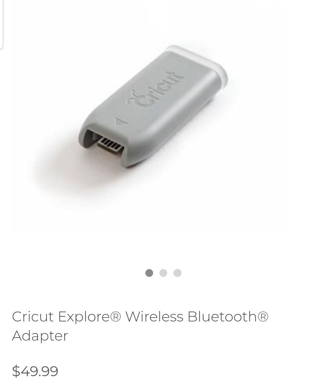 cricut bluetooth adapter