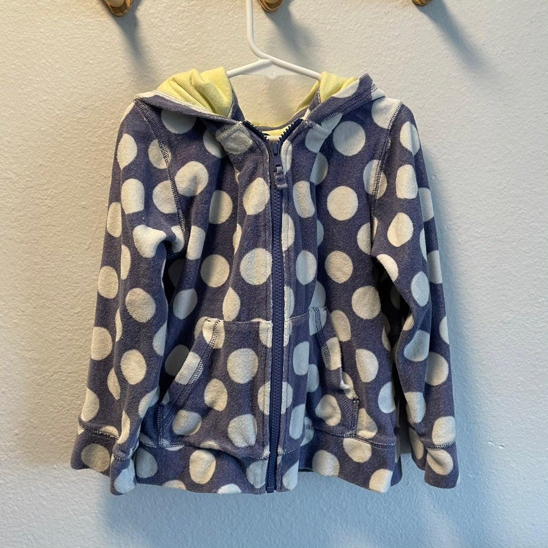 Mini Boden zip hoodie