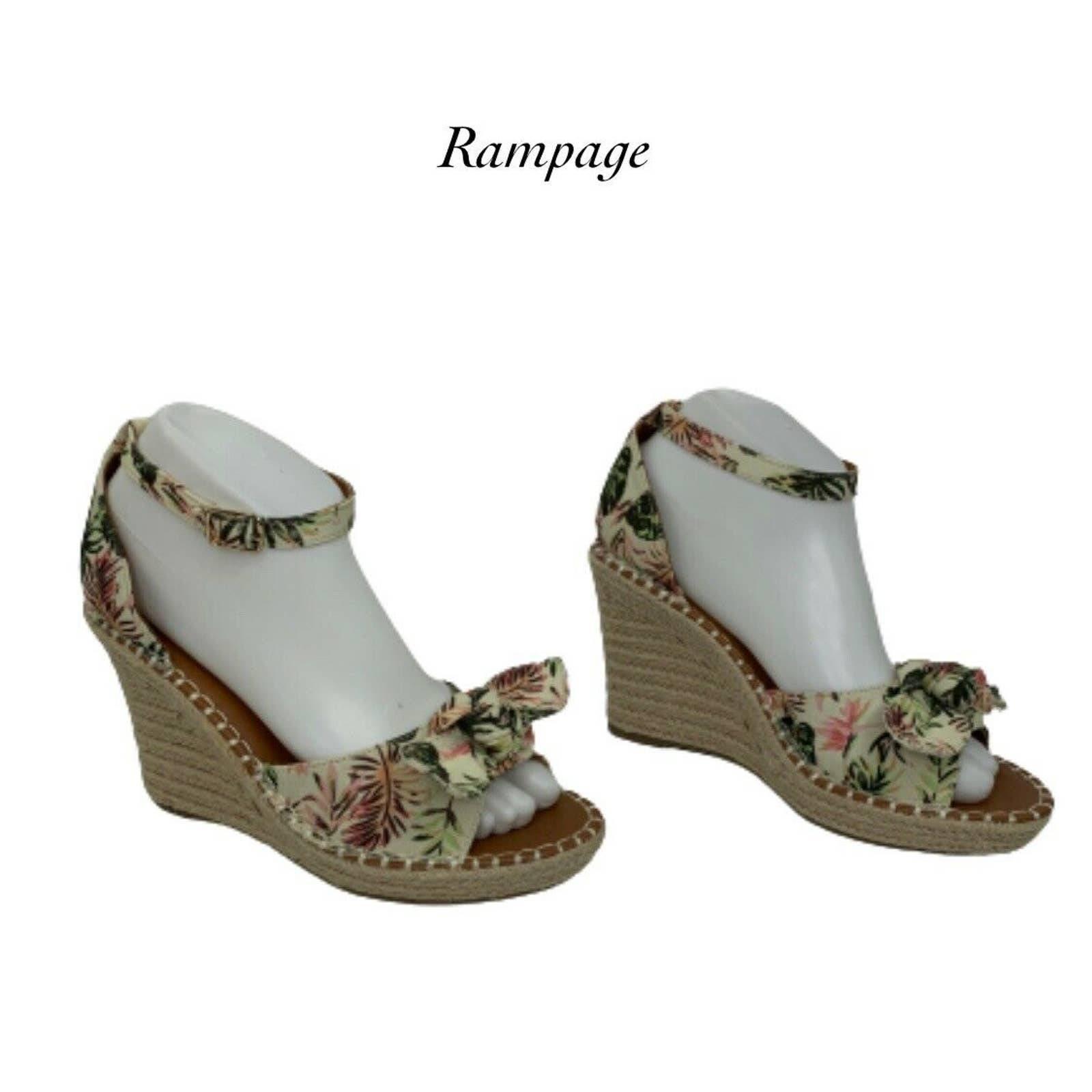 Rampage Ram-Hayna Espadrilles Wedges
