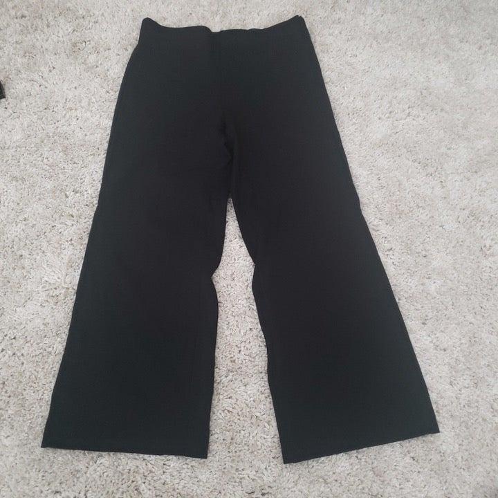 Ann Taylor Womens Black Pants 14 Petite