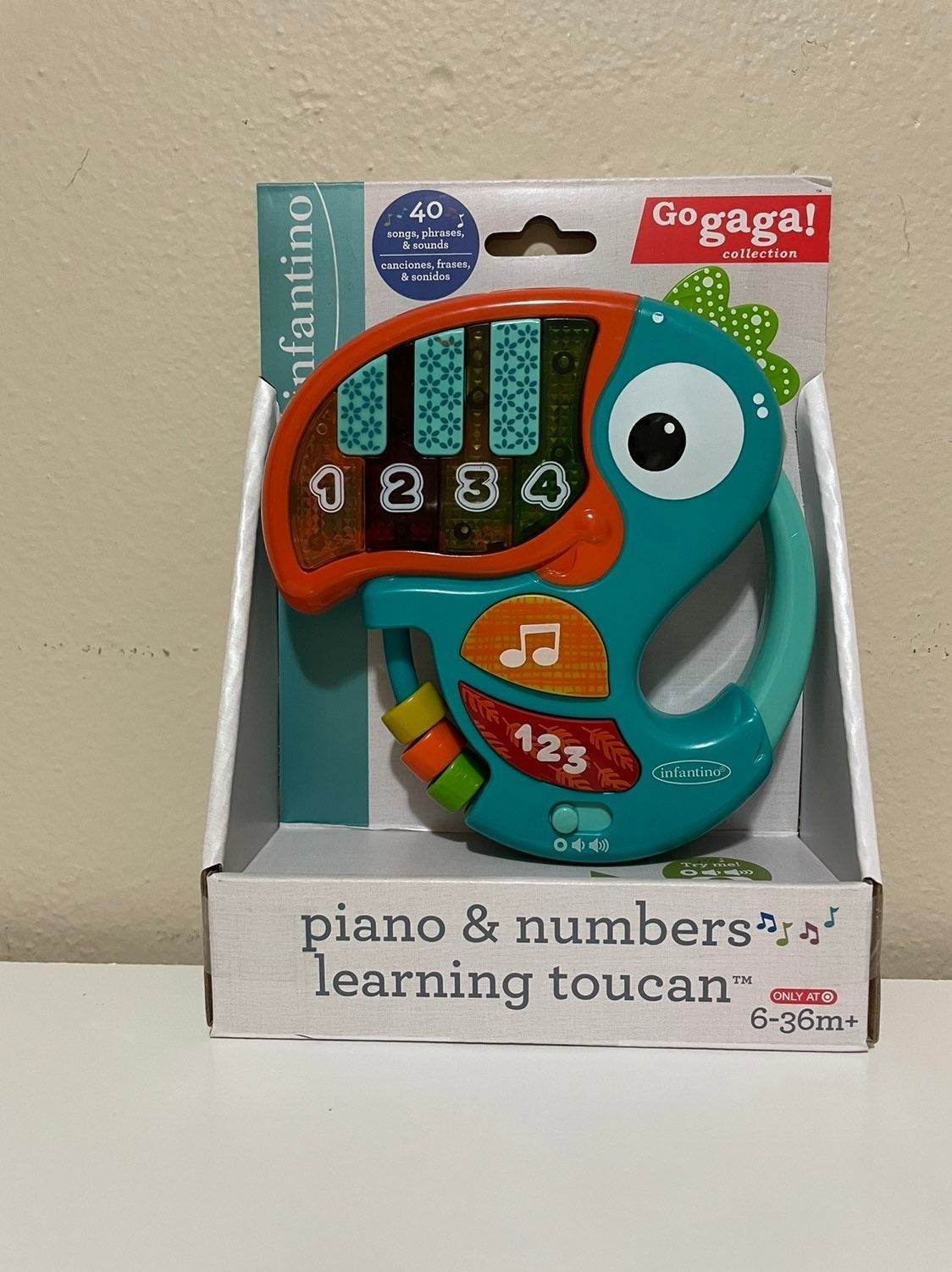 Infantino Piano & Numbers Toucan