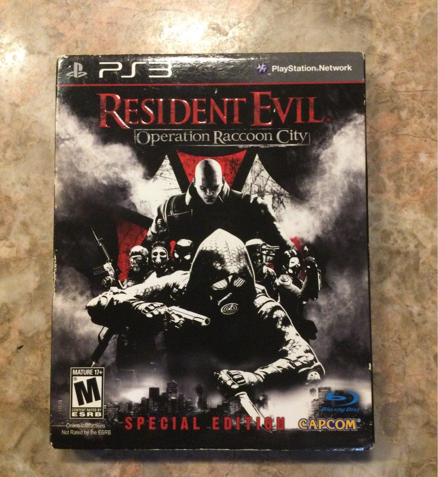 PS3 Resident evil