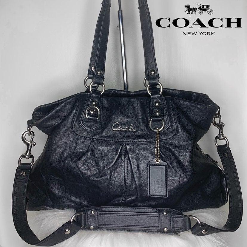 NWT Coach Crossgrain Leather Mini Sierra Satchel in Metallic Raspberry F29170
