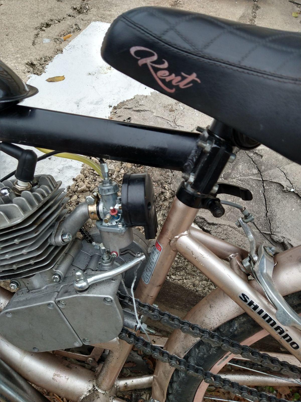2 cylinder kent motor bike
