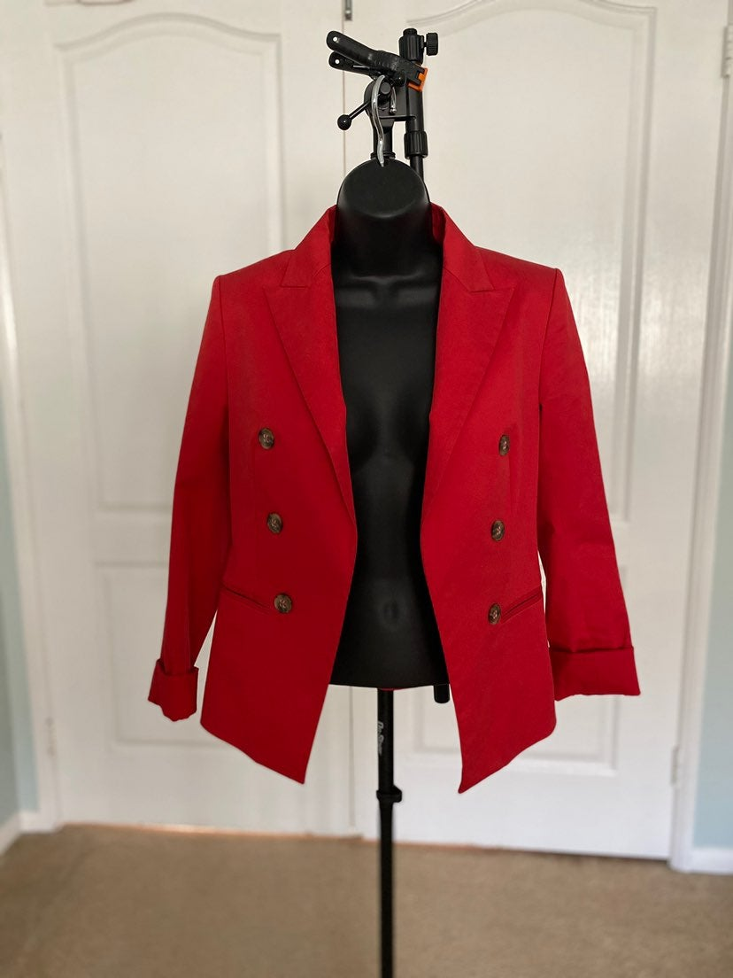 Red THEORY blazer