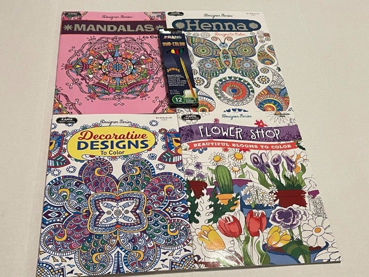KappaDesignerSeries adult coloring books