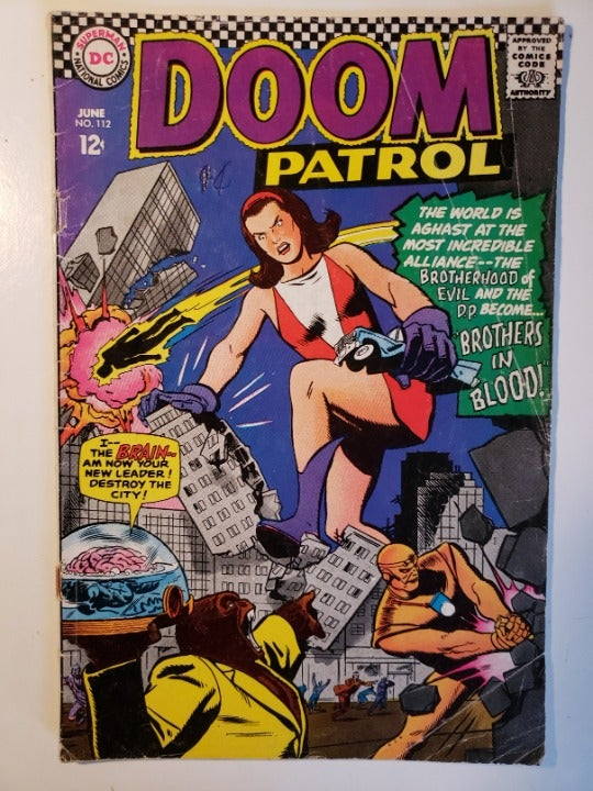 Doom Patrol #112  - VG
