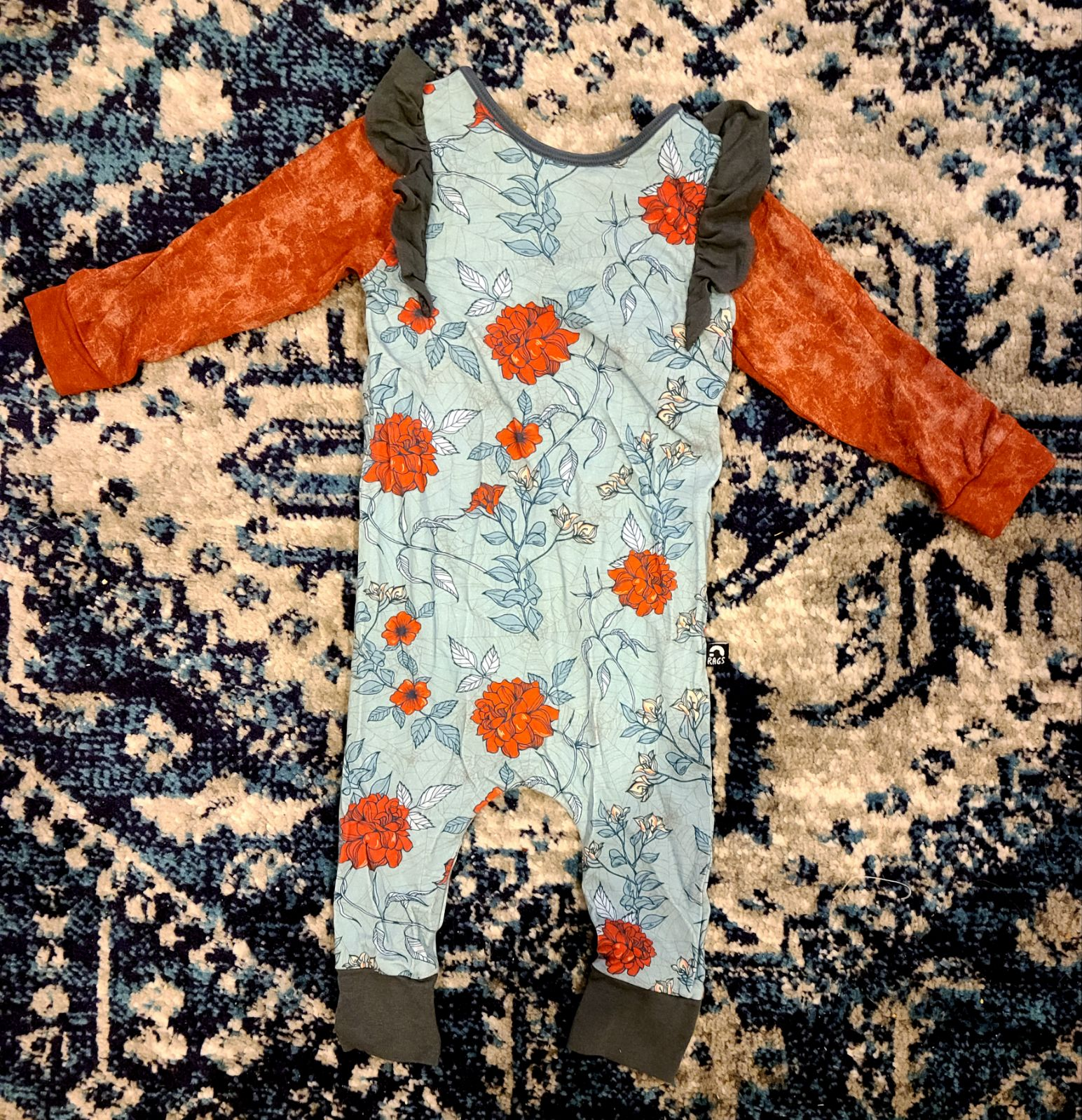 Reserved Rags to Raches 2t  floral