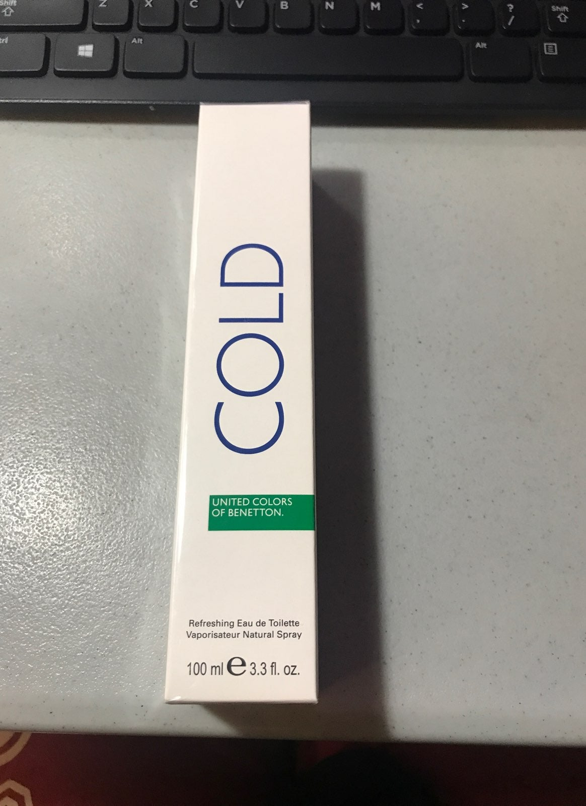 Cold By Benetton 3.3oz EDT For Men