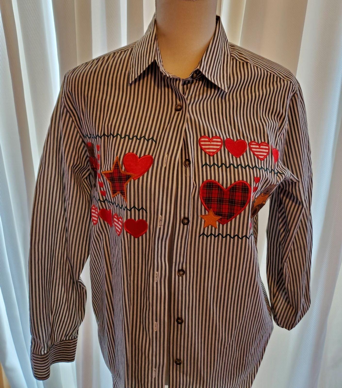 KAREN SCOTT Womens Long Sleeve Shirt sz