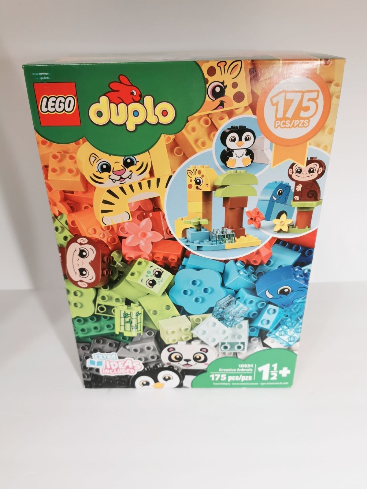 Toy blocks 175pcs creative animals devel