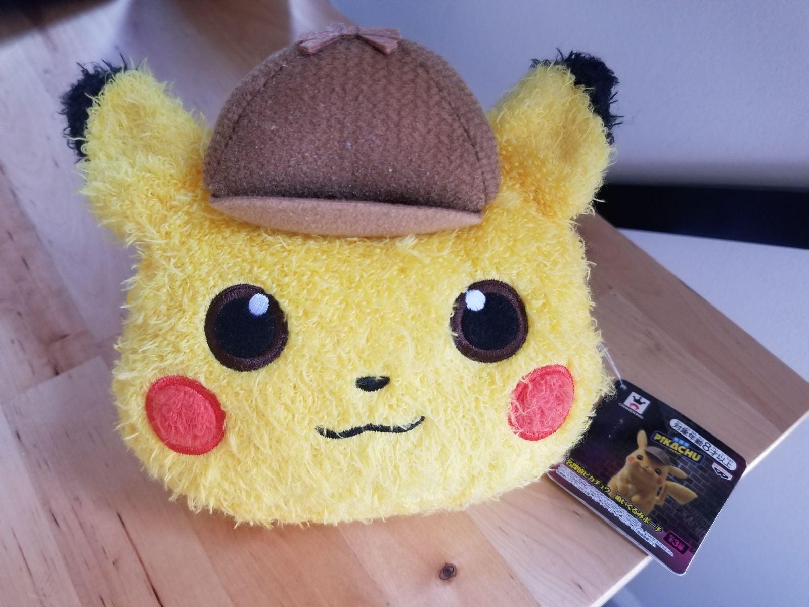 Detective Pikachu Plush Pouch