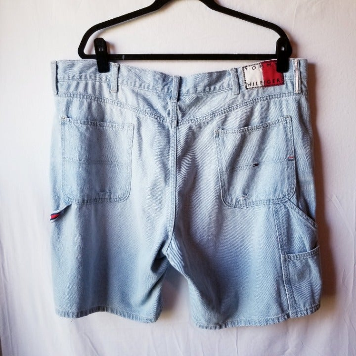 Tommy Hilfiger Denim Jean Shorts VTG 40