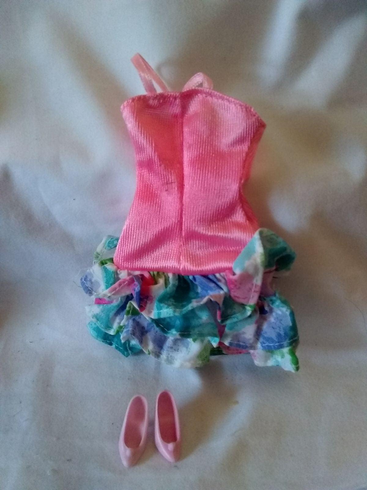 Barbie Dress & Shoes
