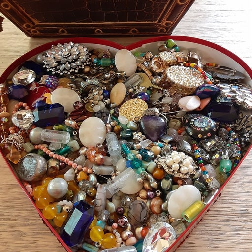 Craft Assorted Gems and Beads