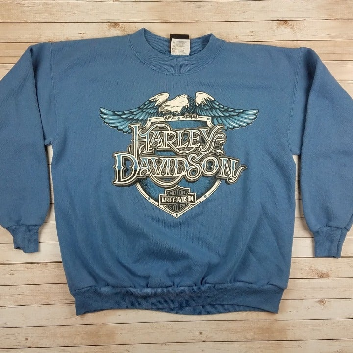 VTG 80s/90s Harley Davidson Sweatshirt
