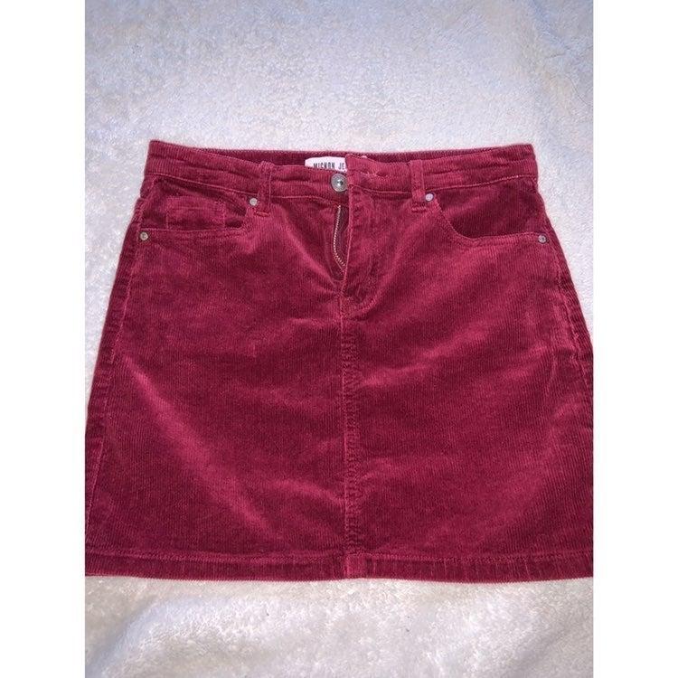 Maroon Skirt