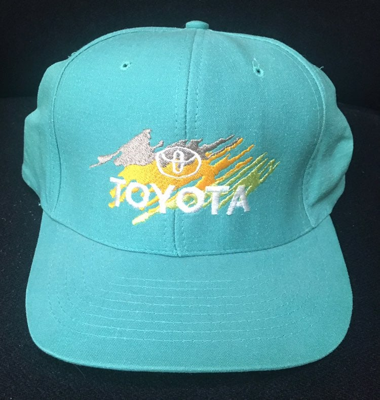Toyota 90s Color Splash Snapback Hat New