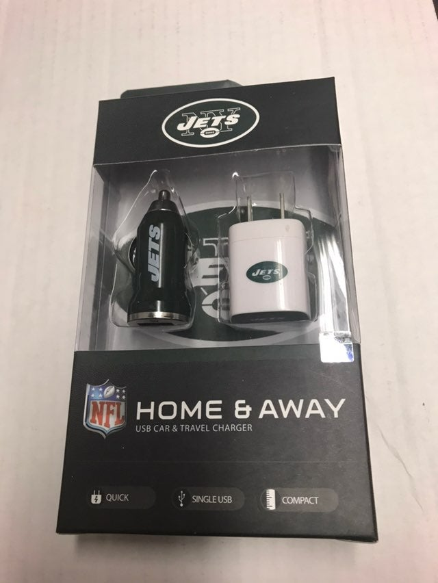 NFL New York Jets USB Charger