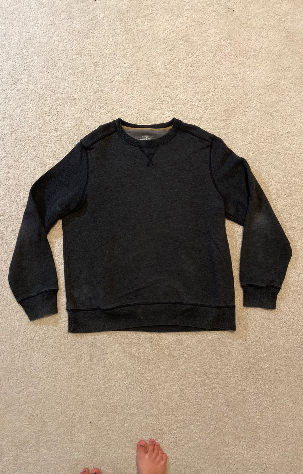 Dark Gray Crewneck
